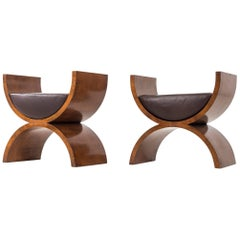 "Jay Specter ""Curule"" Benches"
