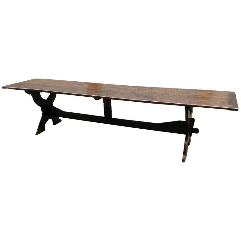 Refectory Table Moor Oak, 17th Century
