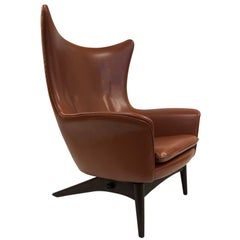 Reclining Lounge Chair by H.W. Klein