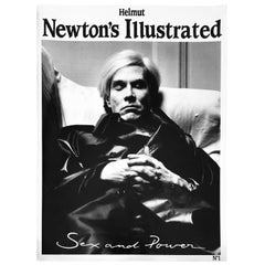 Helmut Newton's Illustrated No. 1, Sex and Power featuring Andy Warhol, 1987