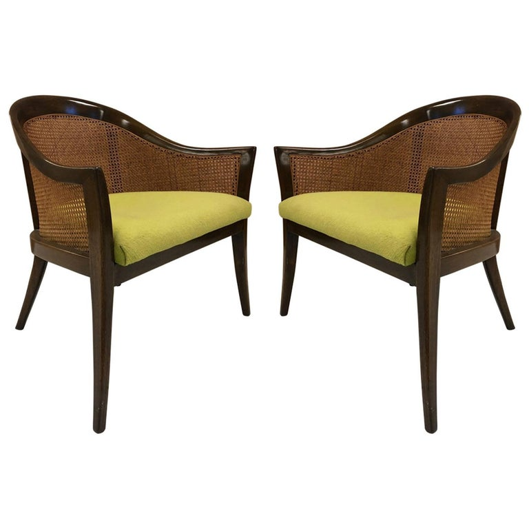 Pair of Harvey Probber Side Chairs For Sale