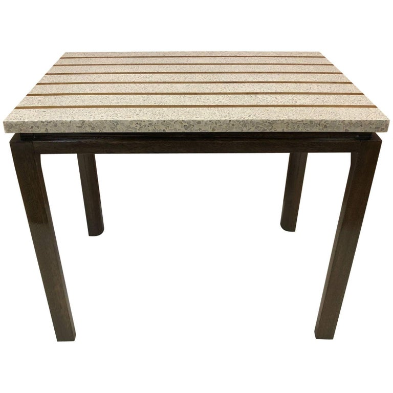 Terrazzo Top Table by Harvey Probber