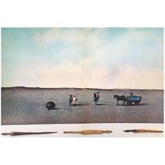 Vintage Saul Steinberg Lithograph 1973