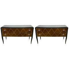 Two Large Art Deco Style Chests, in the Manner of Émile-Jacques Ruhlmann