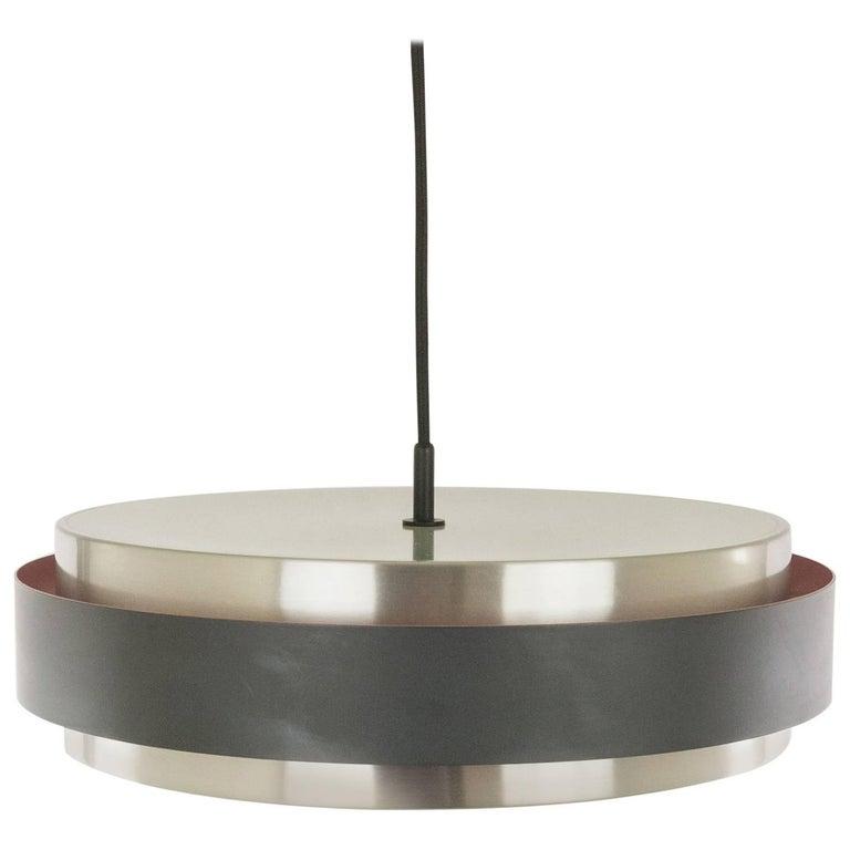 Sera Pendant in Aluminium by Jo Hammerborg for Fog & Mørup, 1960s