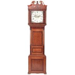 Antique Oak 8 Day Longcase Clock