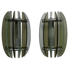 Two Veca Sconces Wall Lamps