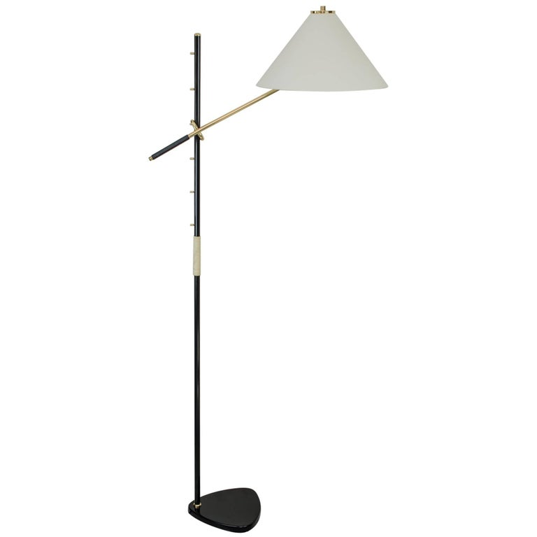 "Floor Lamp ""Pelikan"" by J.T Kalmar"