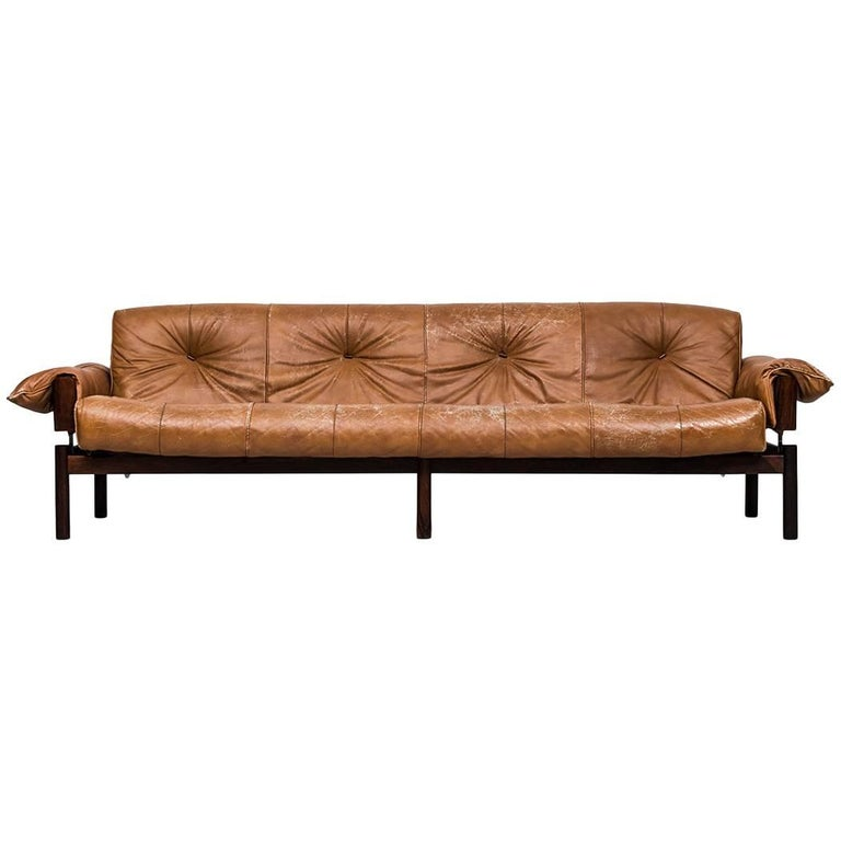 Percival Lafer Large Sofa by Lafer MP in Brazil