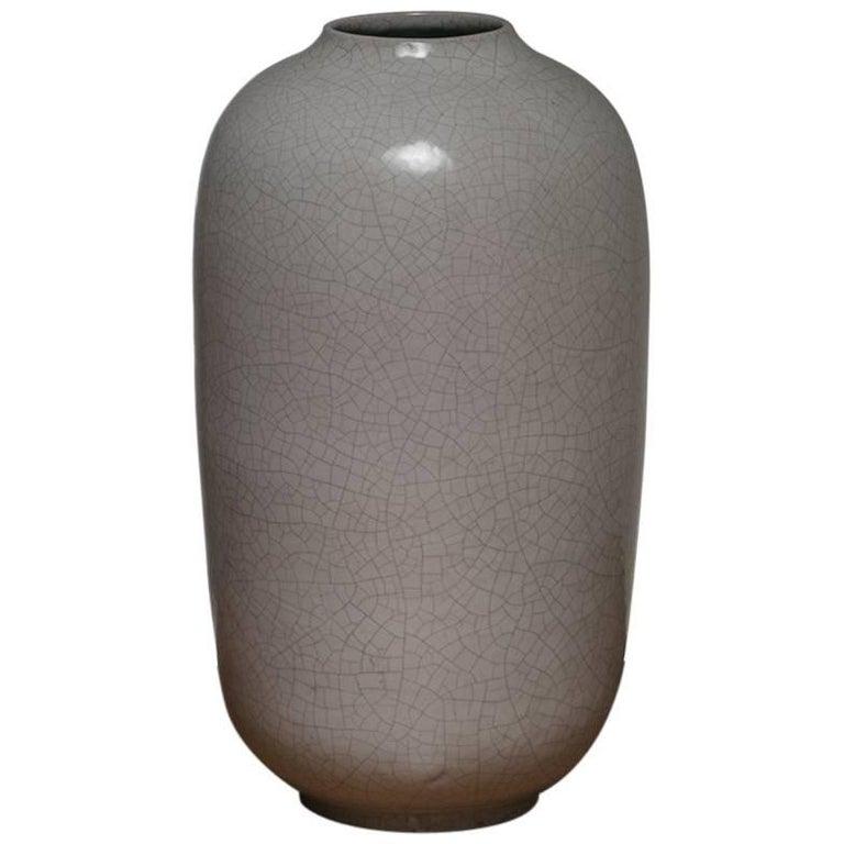 Large Enameled Vase by Marcello Fantoni