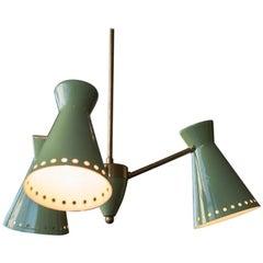Three-Light Italian Diabolo Pendant