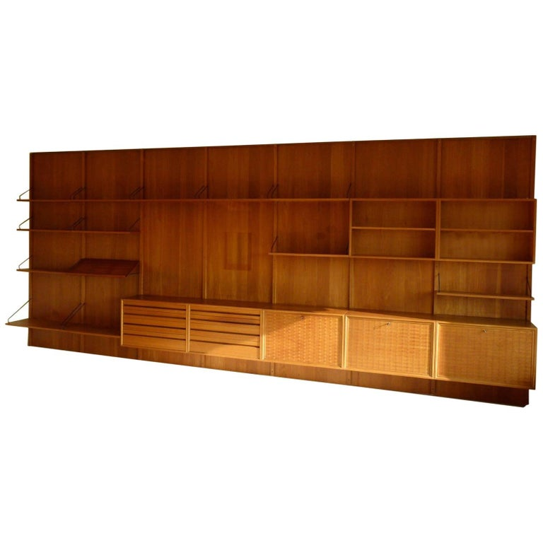 Large Royal System Shelving Unit by Poul Cadovius for Cado