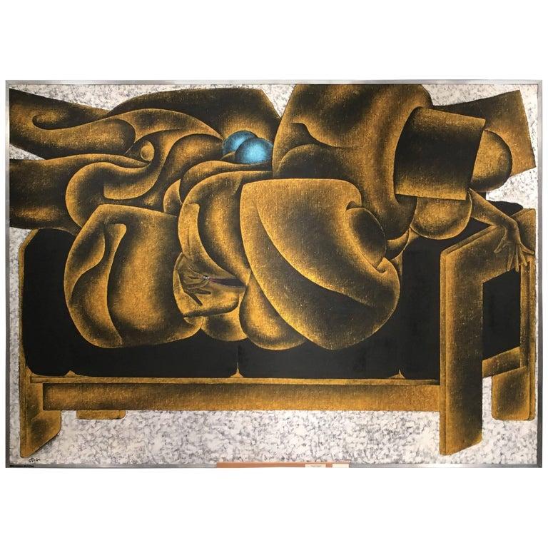 "Georges Collignon ""La Fermeture Eclaire sur Gavina"", 1969"