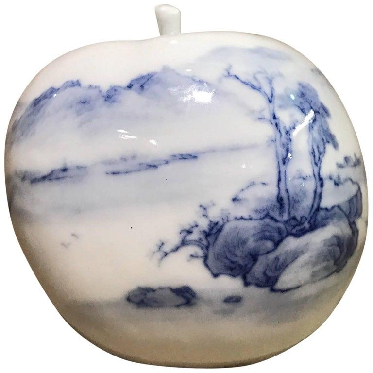 """Dreamscape on Porcelain Apple"" by Taikkun Li For Sale"