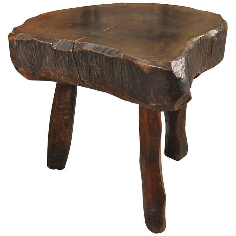 Spanish 19th Century Primitive Bistro Table
