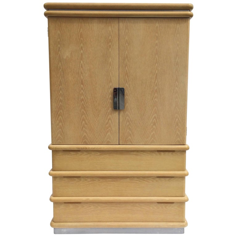 Jay Spectre for Century Furniture Tall Cabinet For Sale