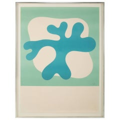 Large Lithograph by Jean Arp Signed and Numbered