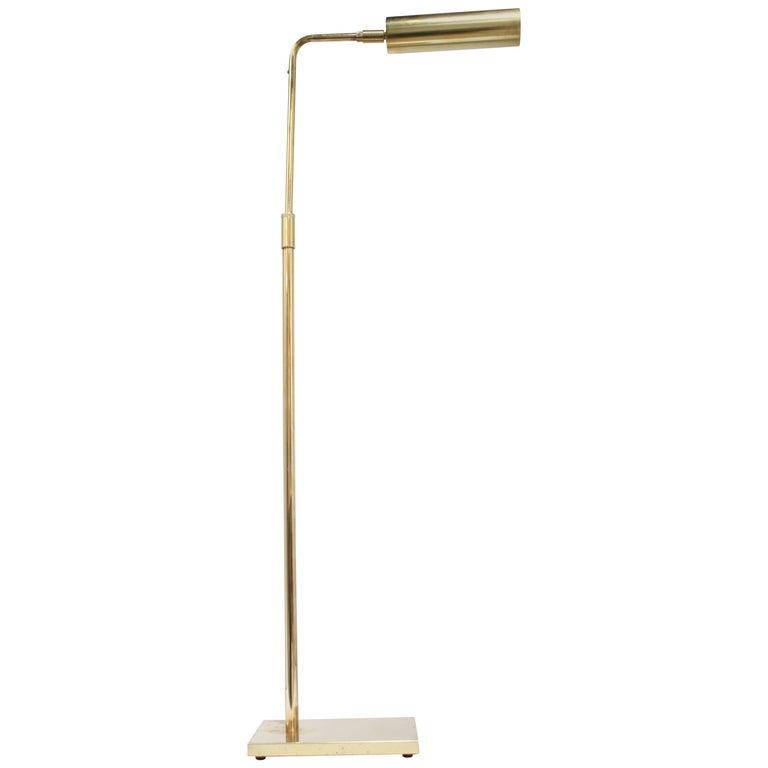 Brass Pharmacy Lamp by Koch & Lowy