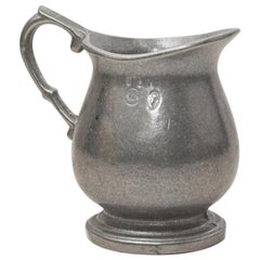 Small Vintage Pewter Creamer