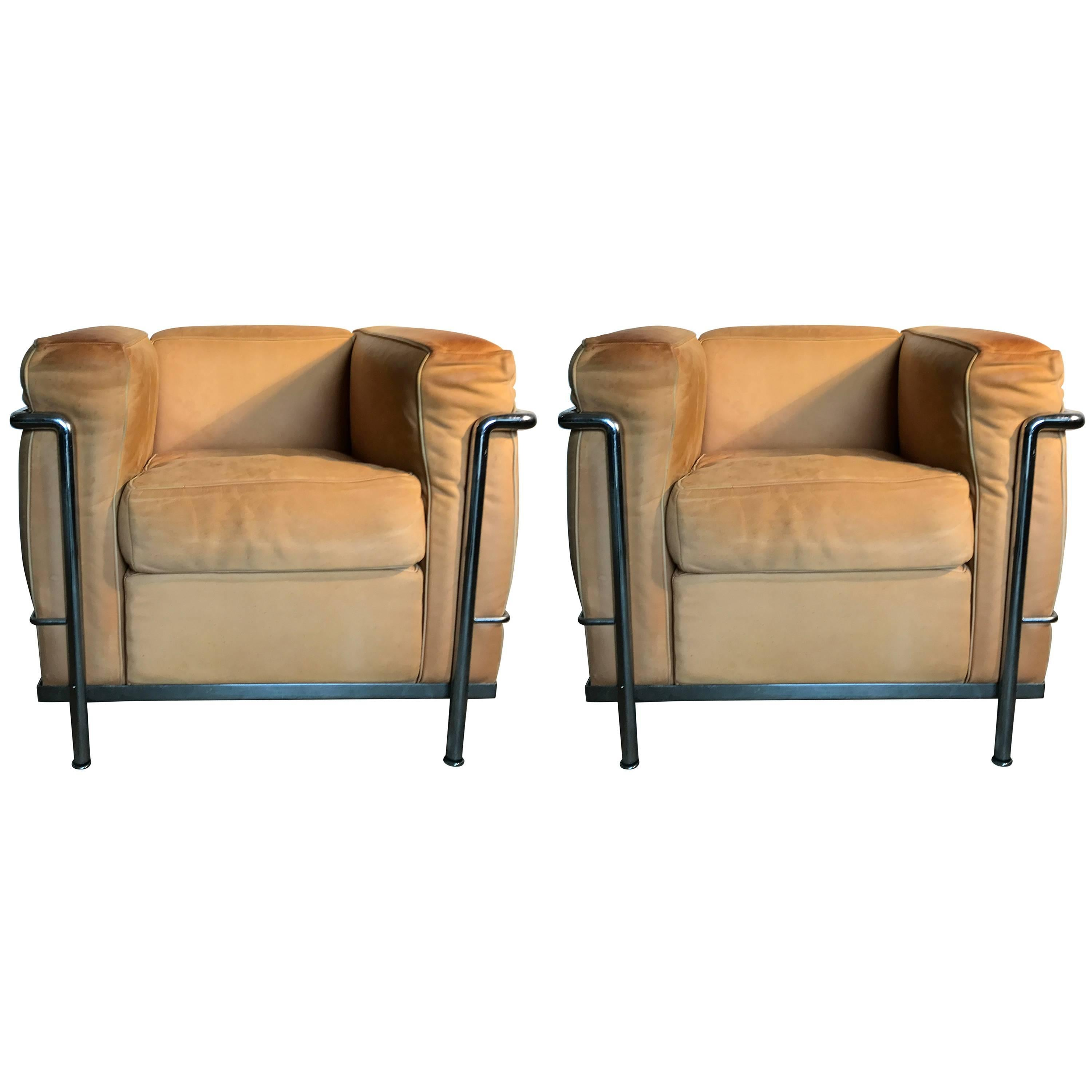 Le Corbusier LC2 Lounge Chairs