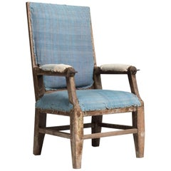 Primitive Recliner Armchair, circa 1770