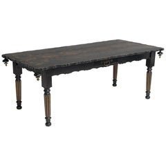 Painted Ebonised Desk, circa 1800