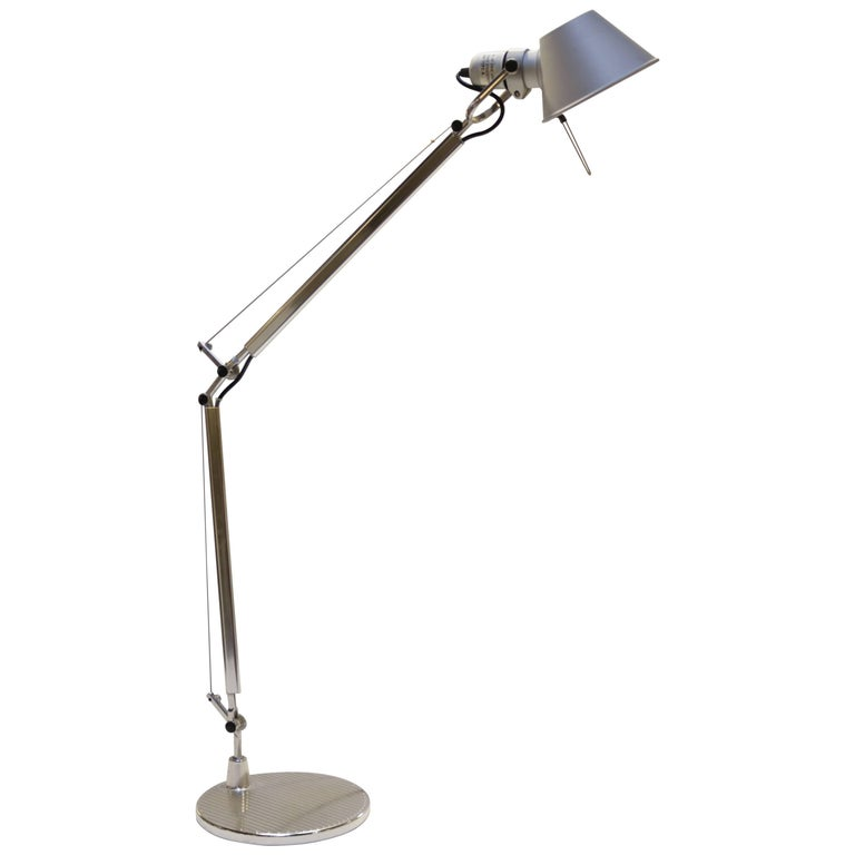 Artimede Tolomeo Desk or Floor Lamp by Michele de Lucchi For Sale