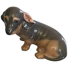 Royal Copenhagen Figurine of Dashhound #3140