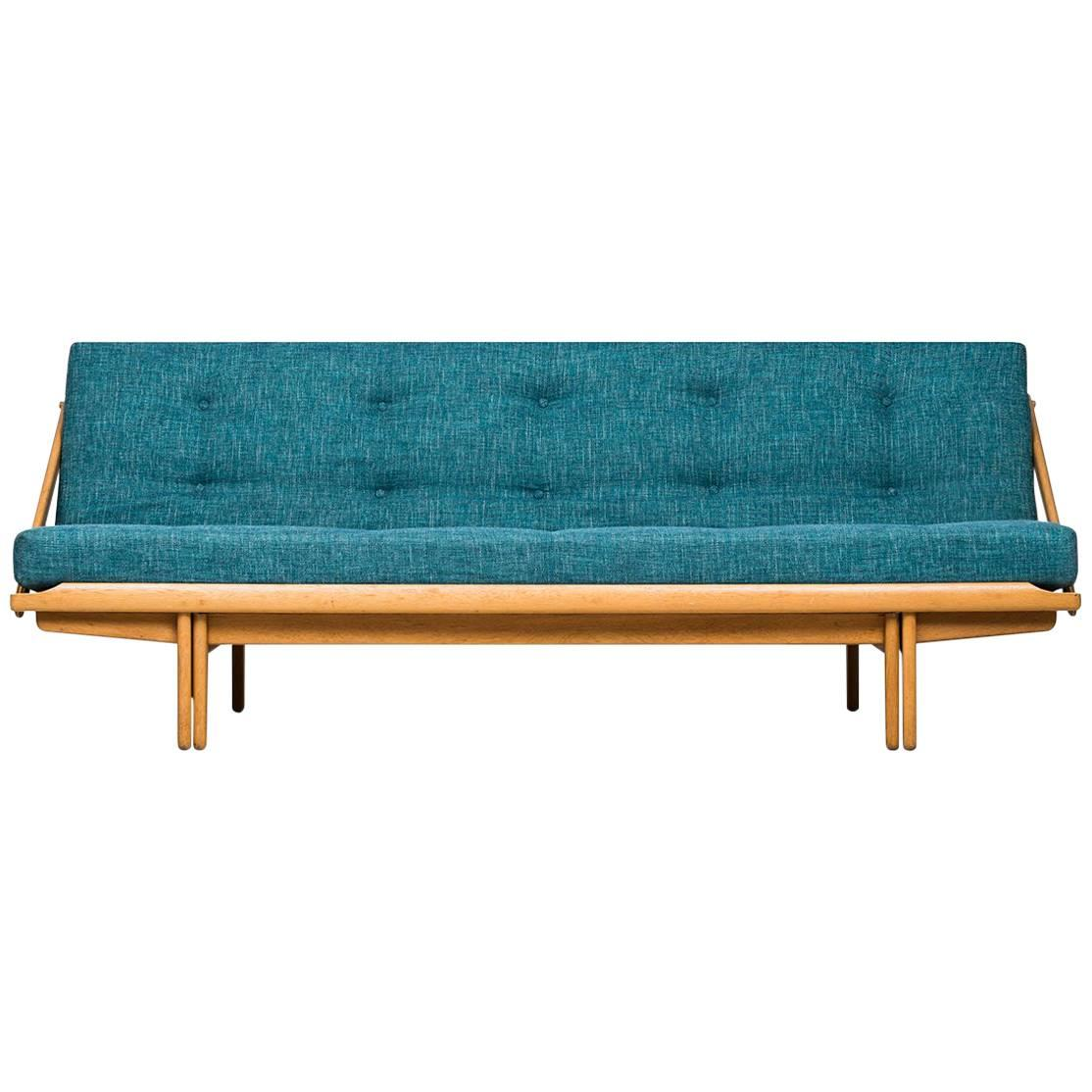 Poul Volther Sofa or Daybed Model Diva / 981 by Gemla in Sweden