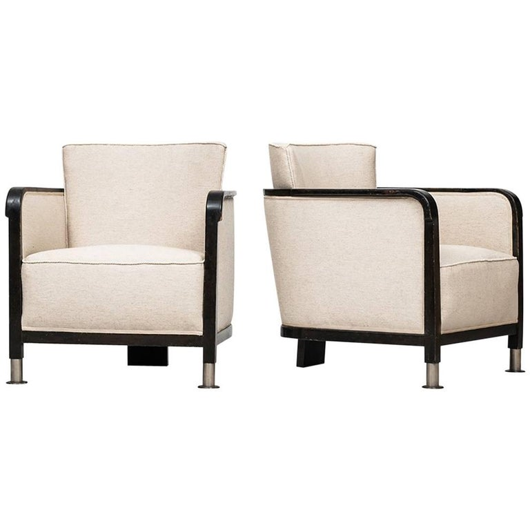 Otto Schulz Easy Chairs by Boet in Sweden