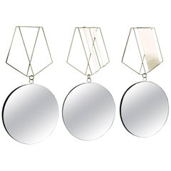 Medallion Brass Mirrors, Rooms