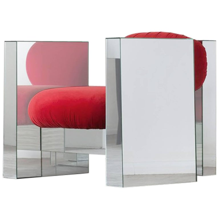 Invisible Mirror Armchair, Rooms