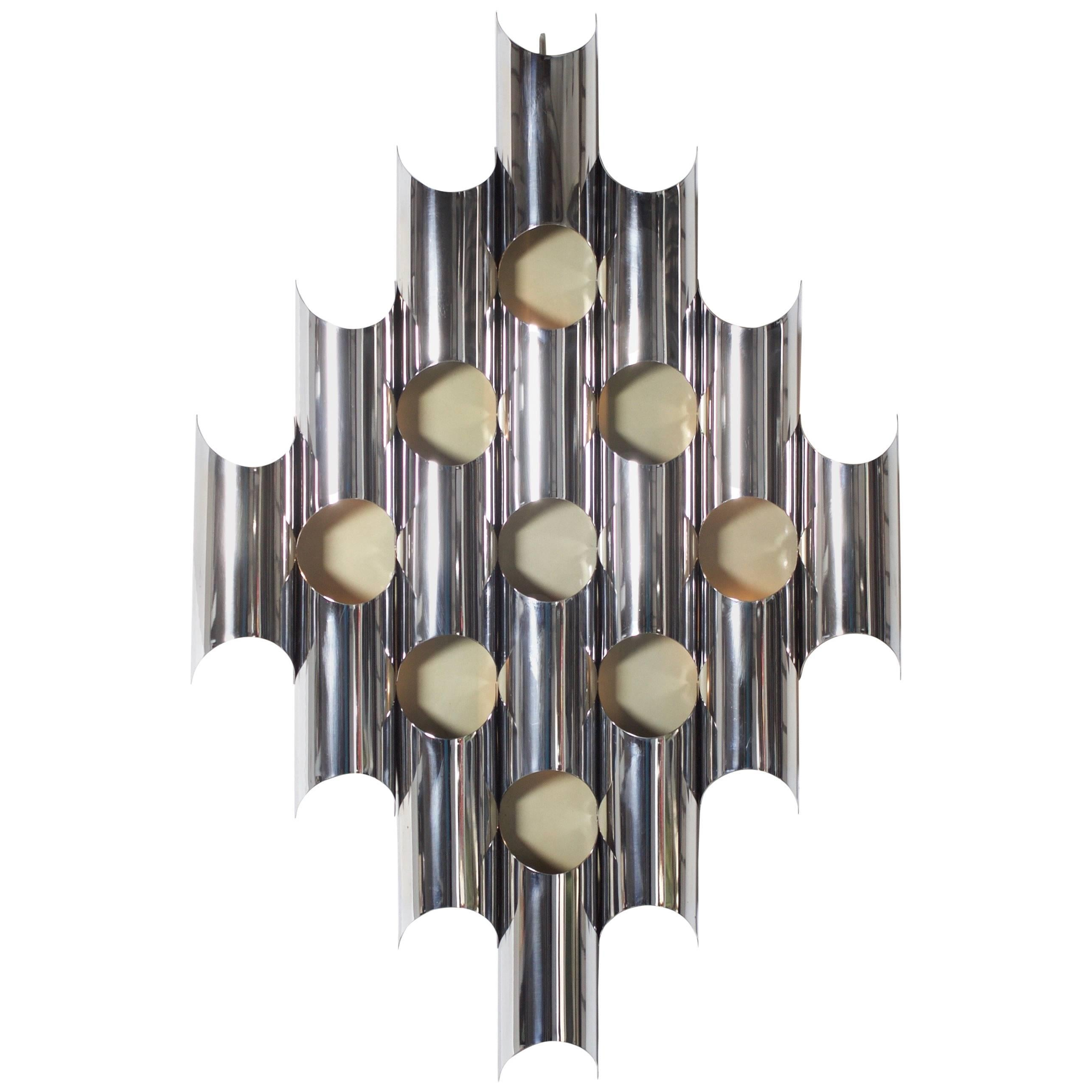 Very Large Sculptural Wall Lamp by Goffredo Reggiani, Italy 1970s