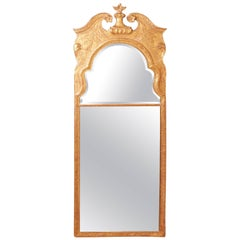 Antique Early 18th Century Giltwood Pier Mirror