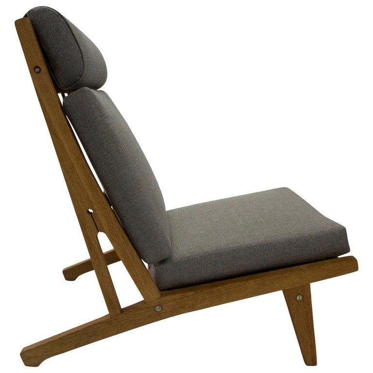 1950 Hans Wegner for GETAMA Oak Lounge Chair
