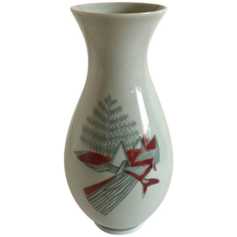 Royal Copenhagen Thorkild Olsen Vase #3473