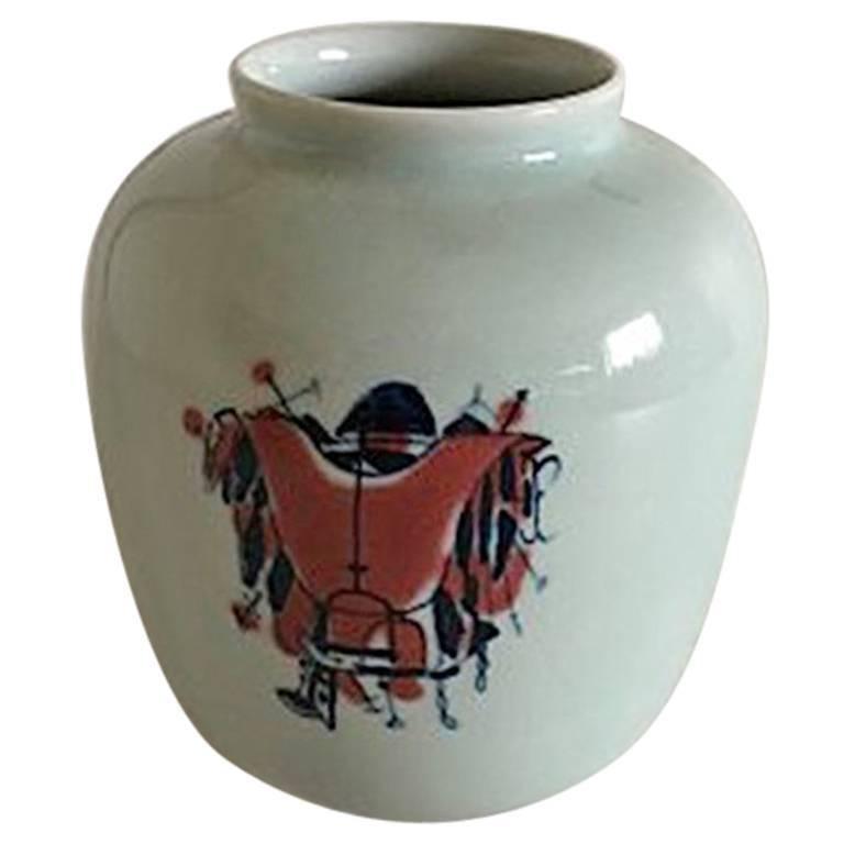 Royal Copenhagen Thorkild Olsen Vase #21059
