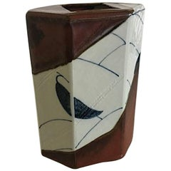 Royal Copenhagen Ceramic Vase from 1979 by Anne-Mette Trolle