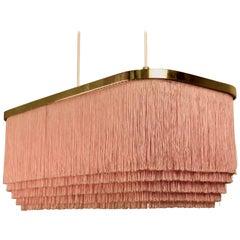 Rare Pink Hans-Agne Jakobsson Ceiling Lamp Model T607, 1960s