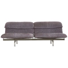 "Giovanni Offredi for Saporiti ""Wave"" Two-Seat Sofa, Italy, circa 1970s"