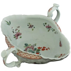 Sauce Boat, Double-Handled, Worcester, circa 1756