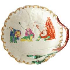 "Blind Earl Dish, ""Pu Tai"" Pattern, Worcester, circa 1760"
