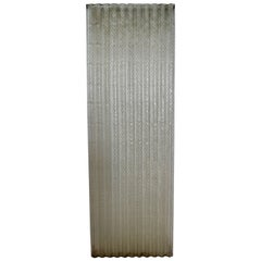 Corrugated Chicken Wire Glass Panels