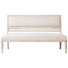 19th Century Swedish Empire Sofa