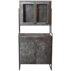Art Deco Machine Age Wolfgang Hoffmann Attribution, Rare Cabinet by Howell