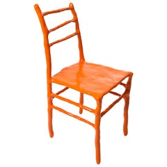 Maarten Baas Clay Chair Limited Edition Basel Chair 2007 Orange