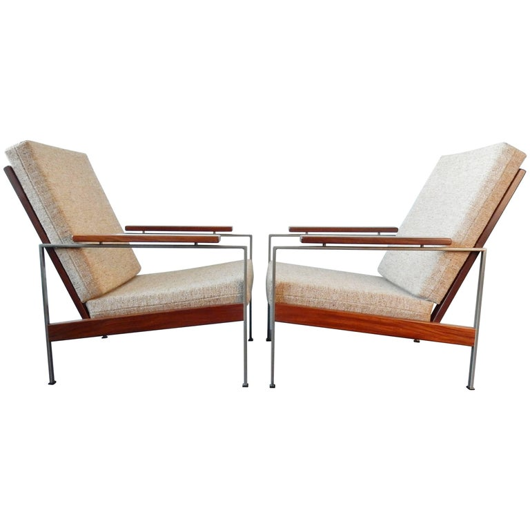 Set of Two Lounge Chairs by Rob Parry for Gelderland, Netherlands, 1960s