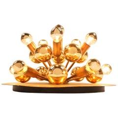 Sputnik Light Cosack Copper Lamp
