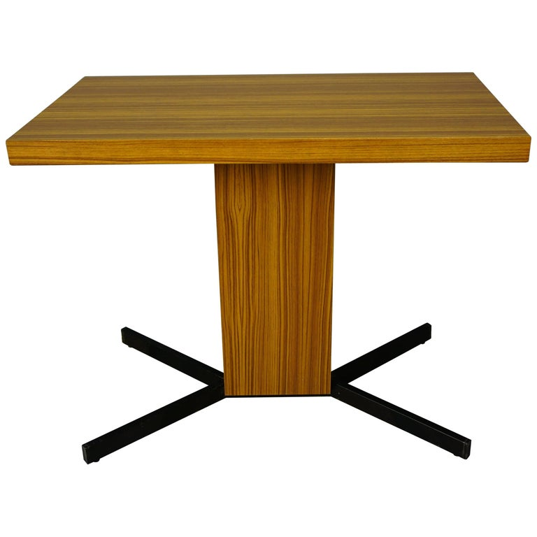 French Design by Pierre Guariche Swivel Table, TV Model for Meurop