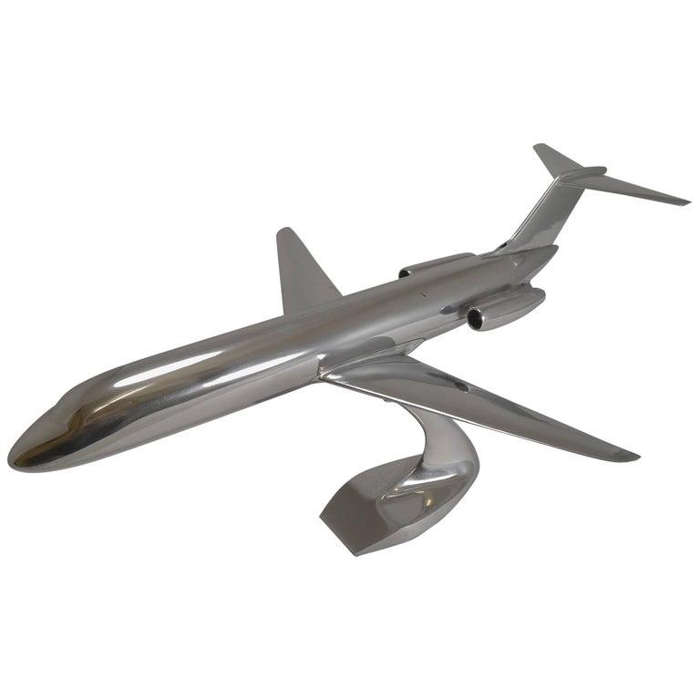 Aluminium Airplane Model McDonnel Douglas DC-9